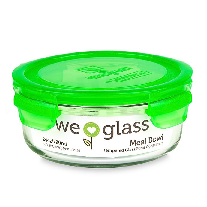 Alternate image 1 for Wean Green® 22 oz. Meal Bowl in Pea
