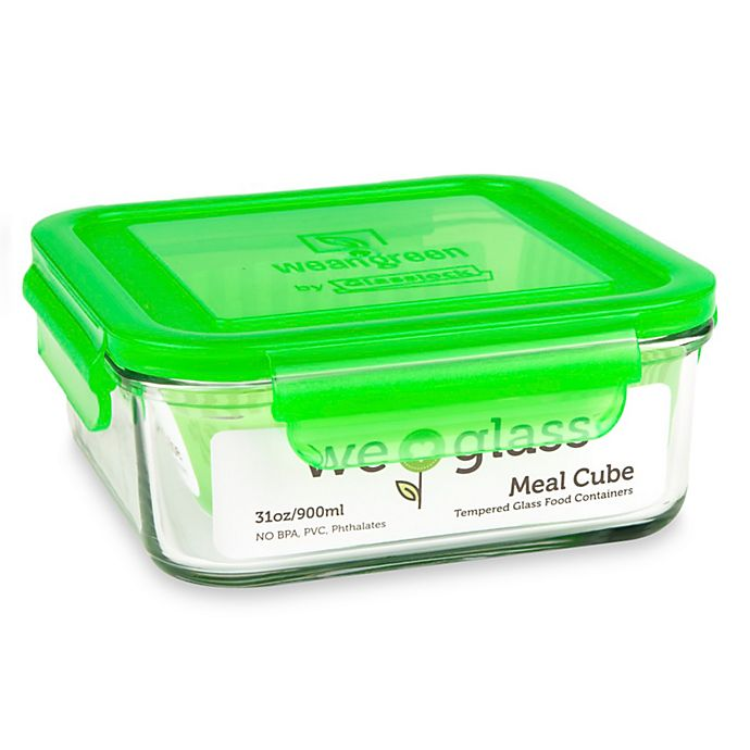 Alternate image 1 for Wean Green® 31 oz. Meal Cube in Pea