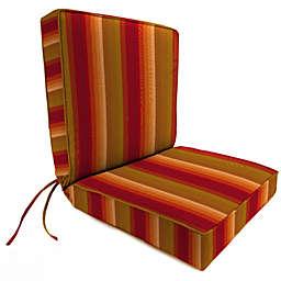 Stripe 44-Inch x 22-Inch Dining Chair Cushion in Sunbrella® Astoria Sunset