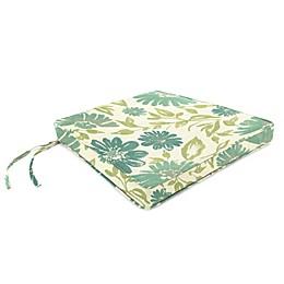 Print Box Edge Trapezoid Chair Cushion in Sunbrella® Fabric