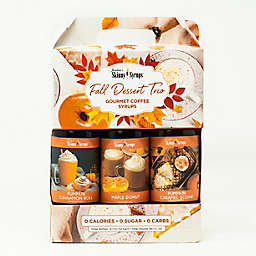 Jordan's Skinny Syrups™ 3-Pack 375 mL Fall Dessert Collection Assorted Syrups