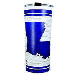 Louisiana 24 oz. Stainless Steel Tumbler with Lid