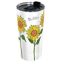 Moodi Mug Bloom 24 oz. Stainless Steel Tumbler with Lid