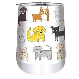Indigo Falls® Dogs Moodi 18 oz. Stainless Steel Tumbler with Lid