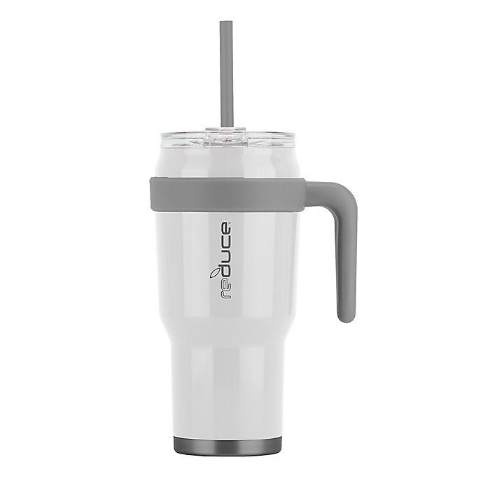 Alternate image 1 for Reduce® Cold1 40 oz. Stainless Steel Travel Mug in White