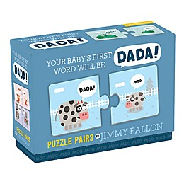 "Chronicle Books ""Your Baby's First Word Will Be DaDa"" Puzzles by Jimmy Fallon"