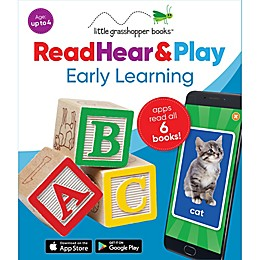 Little Grasshopper™ Read Hear & Play Early Learning Books (Set of 6)