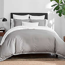 Under the Canopy® Italian Hem Stitch 3-Piece Duvet Cover Set