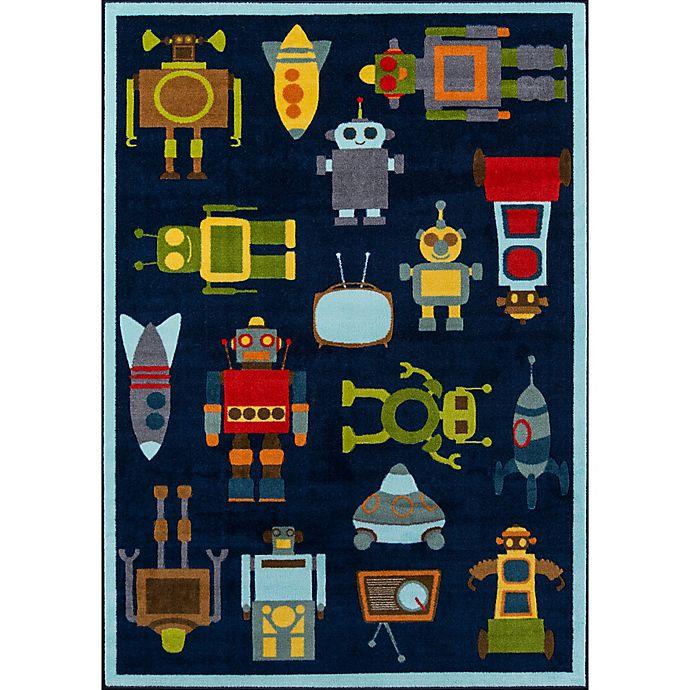 Alternate image 1 for Momeni® Mini Mo Robots Area Rug