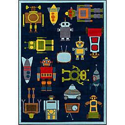 Momeni® Mini Mo Robots Area Rug