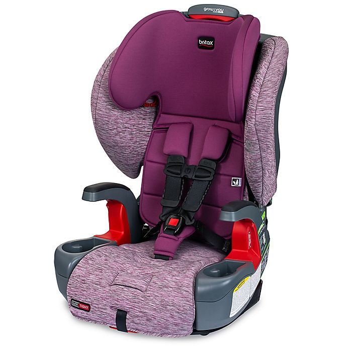 Alternate image 1 for Britax® Grow With You™ ClickTight® Harness-2-Booster Car Seat in Mulberry Purple