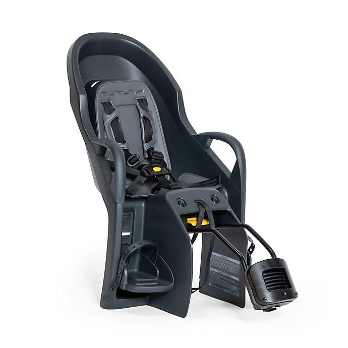 Alternate image 1 for Burley® Dash X FM Child Bike Seat in Black/Grey