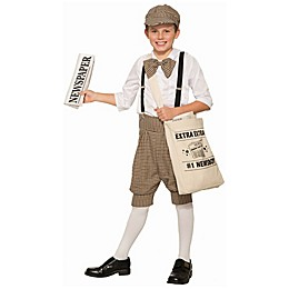 Newsboy Toddler/Child Halloween Costume