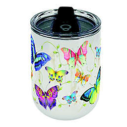 Butterflies 18 oz. Stainless Steel Tumbler with Lid