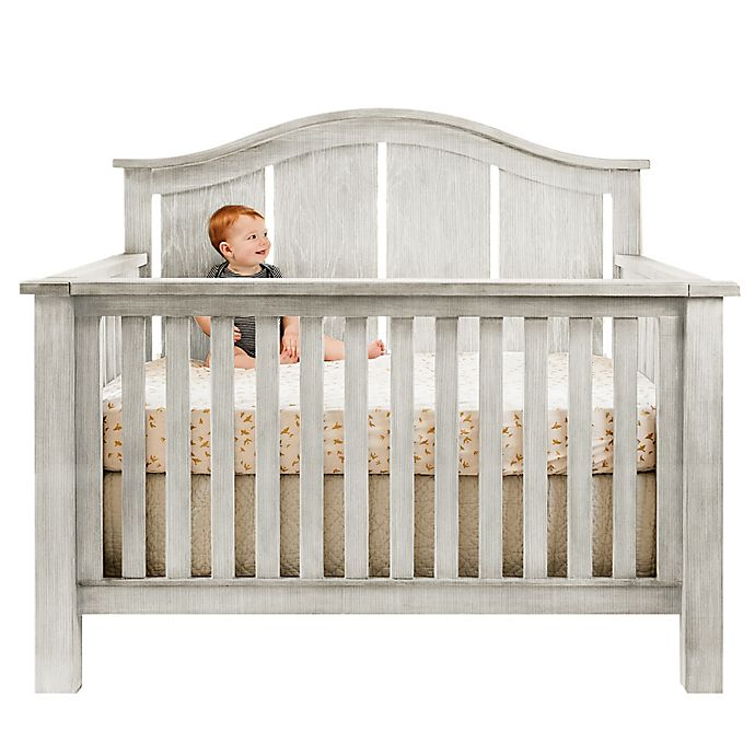 Alternate image 1 for Milk Street Baby Relic Arch 4-in-1 Convertible Crib in Cloud White