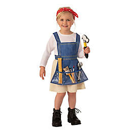 Ms. Fixit Child's Halloween Costume in Blue