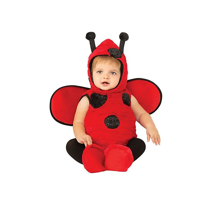 Alternate image 1 for Little Ladybug Infant/Toddler Halloween Costume in Red