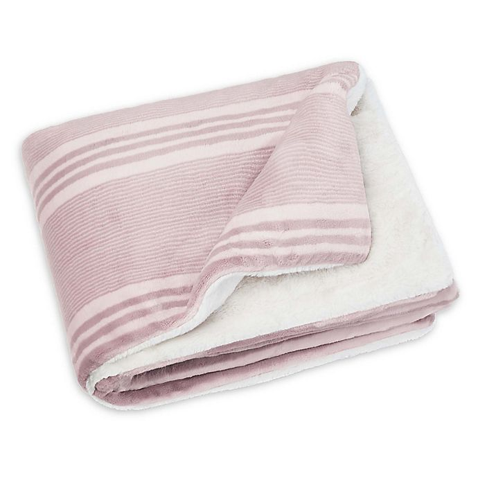 Alternate image 1 for UGG® Parker Weighted Kids Reversible Throw Blanket