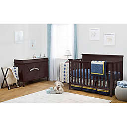Sorelle Berkley Elite 4-Piece Room-In-A-Box Nursery Furniture Collection in Espresso