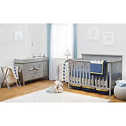 Sorelle Berkley Elite 4-Piece Room-In-A-Box Nursery Furniture Collection in Grey