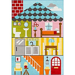 Momeni® Mini Mo Play House Area Rug