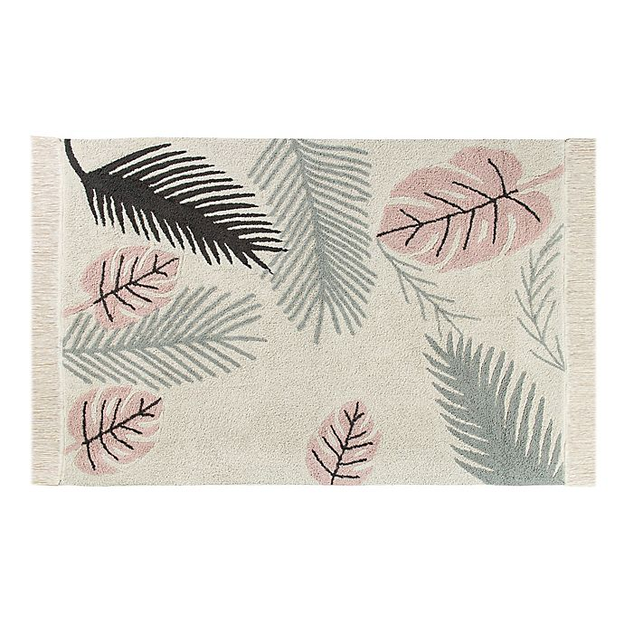 Alternate image 1 for Lorena Canals® Plants Hand-Knotted Area Rug