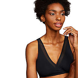 Motherhood® Maternity Mesh Trim Wrap Maternity and Nursing Bra