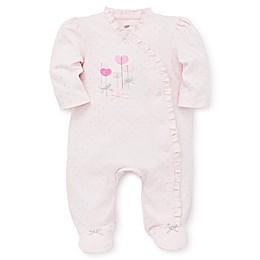 Little Me® Preemie Sweet Hearts Footie in Pink