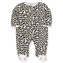 Little Me® Preemie Leopard Footie