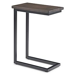 Simpli Home™ Skyler 18-Inch C Side Table in Walnut Brown