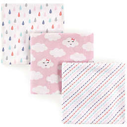 Luvable Friends® 3-Pack Flannel Cloud Receiving Blankets