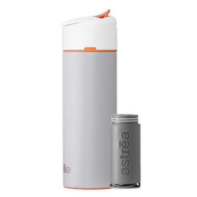 astrea One® 20 oz. Filtered Water Bottle in Grey/Orange