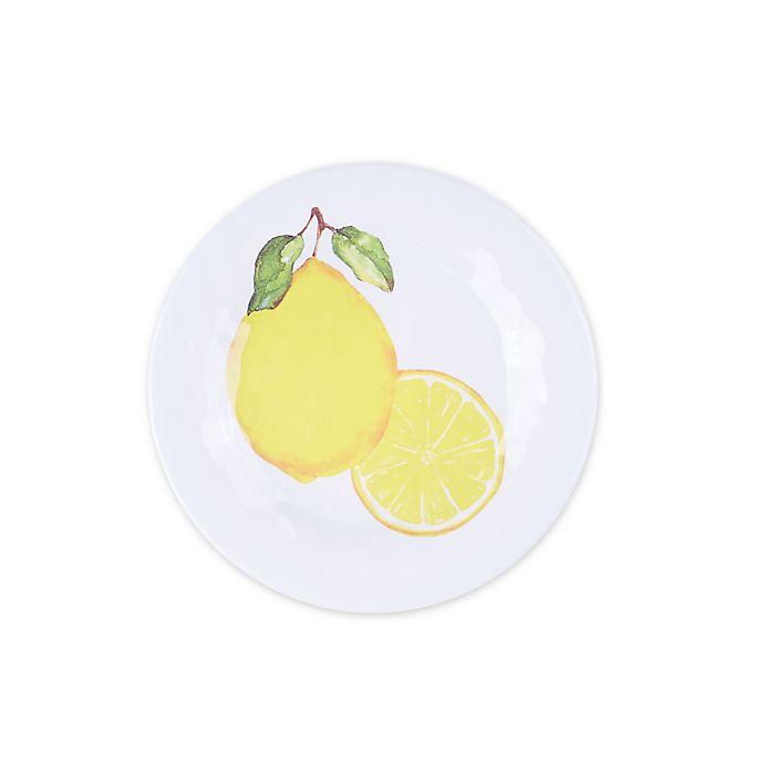 Alternate image 1 for Lemons Melamine Salad Plate