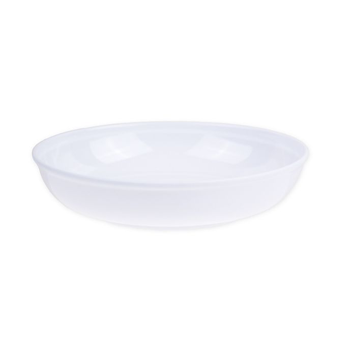 Alternate image 1 for Glazed Melamine Small Bowl in White