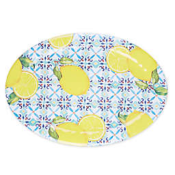 Capri Tile Melamine Oval Platter