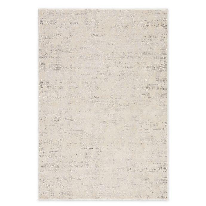 Alternate image 1 for Jaipur Living Arvo Abstract Rug in Silver/White