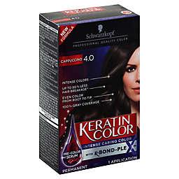 Schwarkopf Keratin Color in Capuccino 4.0