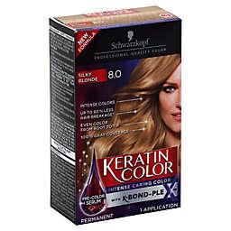 Schwarkopf Keratin Color in Silky Blonde 8.0