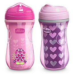 Chicco® 2-Pack 9 oz. Insulated Rim-Spout Trainer Sippy Cup
