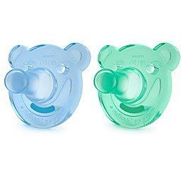Philips Avent 2-Pack Bear Soothie 3M+ Pacifiers