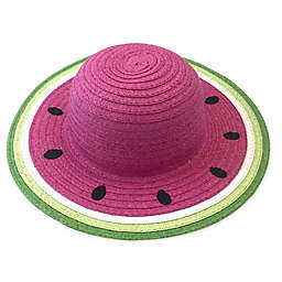 Toby Fairy™ Watermelon Straw Infant Hat