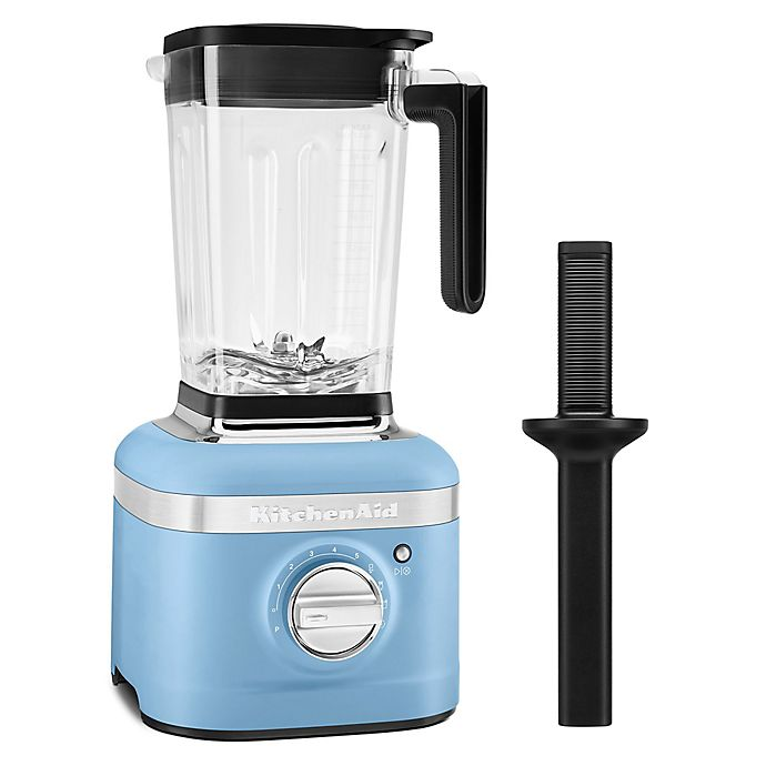 Alternate image 1 for KitchenAid® K400 Blender with Tamper in Blue Velvet
