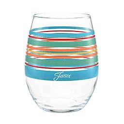 Fiesta® Rainbow Radiance Stemless Wine Glasses (Set of 4)