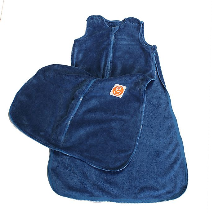 Alternate image 1 for Gunamuna Gunapod® Plush Wearable Blanket in Blue