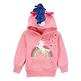 Doodle Pants® Unicorn Hoodie in Pink
