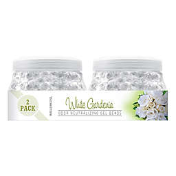 Smells Begone 2-Pack White Gardenia 12 oz. Odor Neutralizing Gel Beads