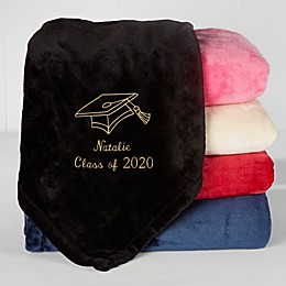 The Graduate Fleece Throw Blanket
