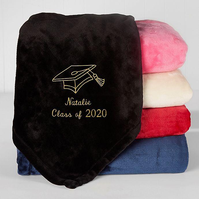 Alternate image 1 for The Graduate Fleece Blanket