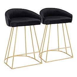 LumiSource® Canary Counter Stools (Set of 2)