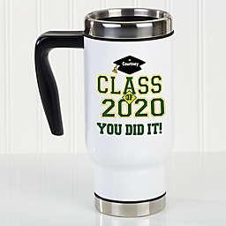Cheers to the Graduate 14 oz. Commuter Travel Mug